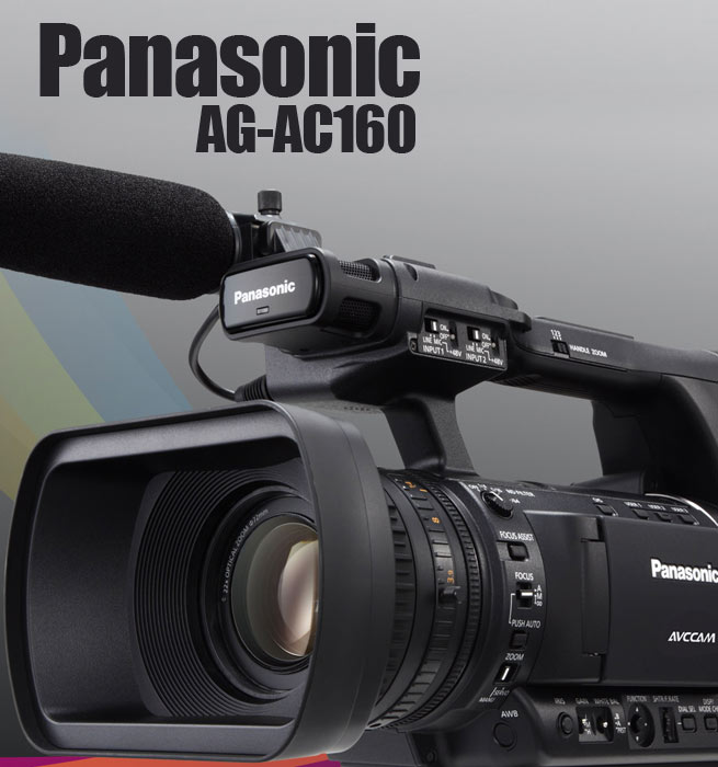 Panasonic AG-AC160 due this week