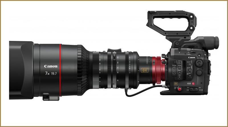 8K 7x lens