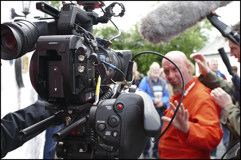 Filming Edradour